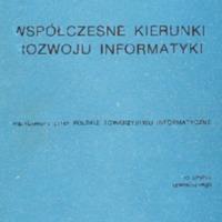 Współczesne kierunki rozwoju informatyki